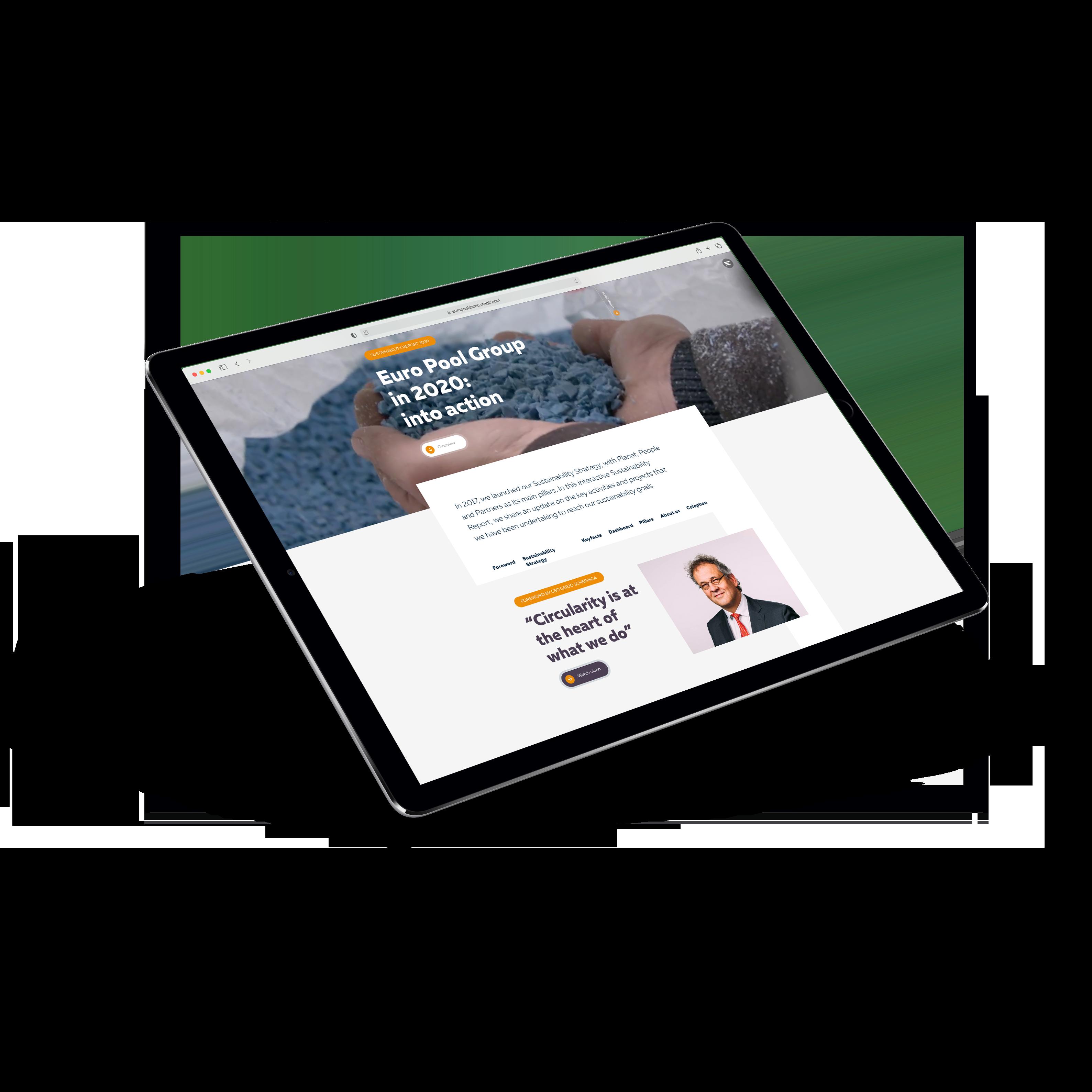 EPS-iPad Mockup Sustainability Report 2020 transp - 560